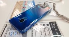 Samsung Galaxy S9 Polaris Blue: флагман в стильном градиентном корпусе на фото