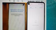 Сравнение исполнения фронталок Samsung Galaxy S10 и Galaxy A8s