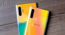 Корпус Samsung Galaxy Note 10+ 5G испытали на прочность