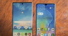 Samsung аккуратно троллит Huawei