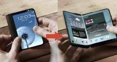 Складной смартфон от Samsung представят в конце года