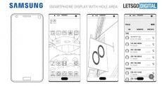 Новый интересный патент безграничного дисплея от компании Samsung