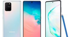 Представлены Samsung Galaxy S10 Lite и Galaxy Note 10 Lite