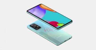 Про дизайн Samsung Galaxy A52: изображения смартфона