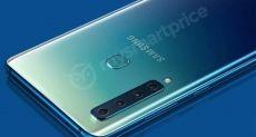 Пресс-изображение и характеристики Samsung Galaxy A9 (Galaxy A9s)
