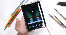 Samsung Galaxy Fold проверили на прочность