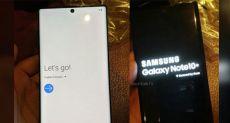 Samsung Galaxy Note 10+ впервые показался на фото