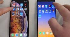 Samsung Galaxy Note 9 и iPhone XS Max сошлись в тесте на скорость работы