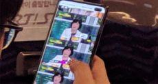 Samsung Galaxy S10+ попал в объектив камеры