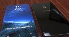 Концептуальный бескрайний Samsung Galaxy S9