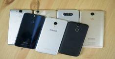 Опубликован рейтинг лучших смартфон, составленный AnTuTu по отзывам пользователей
