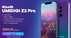 Акция от Gearbest: скидка на UMIDIGI Z2 Pro