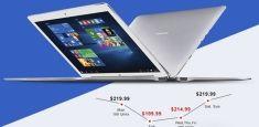 Гибридный планшет Teclast Tbook 16 Pro всего за $219,99 в магазине Gearbest.com