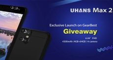UHANS Max 2: смартфон с большим экраном теперь доступен для предзаказа по цене $139,99