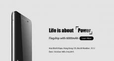Ulefone Power c аккумулятором на 6000 мАч будет представлен на выставке в Гонконге с 18 по 21 октября