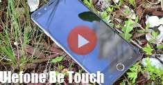 Ulefone Be Touch: видеообзор симпатичного смарта со сканером на лицевой панели