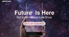 Ulefone ждет вас 15 октября на своем онлайн-мероприятии