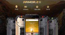 Представлен защищенный Ulefone Armor 2s с классом защиты IP68
