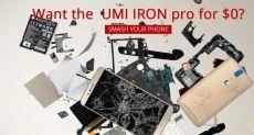 Umi Iron Pro: придумай лучший способ уничтожить Elephone P8000