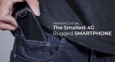 Мал, да удал: 2,45-дюймовый защищенный Unihertz Atom сдал тест на прочность на отлично