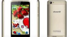 VKworld VK700 MAX - первый на рынке смартфон начального уровня с аккумулятором емкостью 4200 mAh