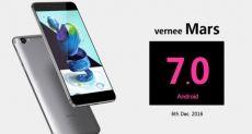 Vernee Mars получит обновление до Android 7.0 Nougat в декабре
