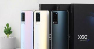 Vivo X60 и X60 Pro: пресс-фото новинок и детали о них