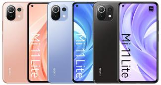 Xiaomi Mi 11 Lite: пресс-изображения и цена в Европе