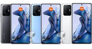 Изображения и характеристики Xiaomi 11T