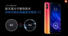 Xiaomi Mi 8 Screen Fingerprint Edition обладает уникальной системой охлаждения