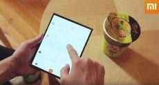 Гибкий смартфон Xiaomi вновь засветился на видео