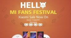 Xiaomi Mi Fans Festival на Geekbuying: время покупать продукты Xiaomi со скидкой