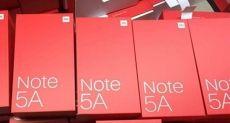 Xiaomi Redmi Note 5A укомплектуют Snapdragon 625, 4 Гб ОЗУ и двойной камерой