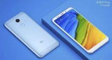 Xiaomi Redmi 5 и Redmi 5 Plus на официальных пресс-рендерах