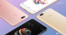 Xiaomi Mi 5X на видео и двойная камера как у Xiaomi Mi6