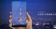 Безрамочный Xiaomi Mi MIX 2 получит изогнутый AMOLED-дисплей с соотношением площади экрана 93%