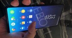 Полноэкранный Xiaomi Mi Mix 3 позирует на фото