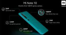 Gearbest предлагает Xiaomi Mi Note 10: предварительный заказ и розыгрыш смартфона
