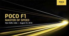 Объявили дату анонса Xiaomi Pocophone F1