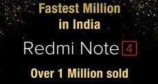 Xiaomi Redmi Note 4 разошелся тиражом 1 миллион в Индии