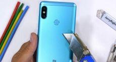 Xiaomi Redmi Note 5 испытали на прочность