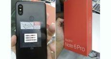 Xiaomi Redmi Note 6 Pro показали на видео