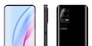 Показали Nubia Z30 с подэкранной камерой