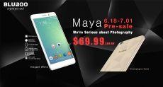 Bluboo Maya, Xtouch, Xfire, Picasso, X9 и умные часы Bluboo Uwatch успей купить за $9,99