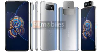 Пресс-изображения и характеристики Asus Zenfone 8 Flip и Asus Zenfone 8 (mini)