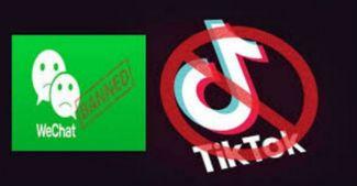 От угроз перешли к действиям: WeChat и TikTok под запретом в США