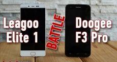Doogee F3 Pro и Leagoo Elite 1: сравнение и выбор лучшего