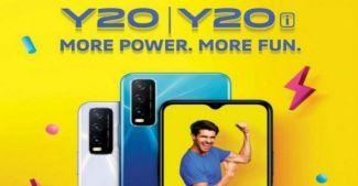 Представлены Vivo Y20 и Vivo Y20i: выносливые бюджетки с Snapdragon 460