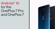 OnePlus 7 и OnePlus 7 Pro получают стабильную сборку Android 10