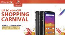 Blackview объявляет о распродаже на свои смартфоны